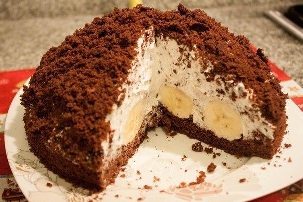 Торт из блинов рецепты со сгущенкой