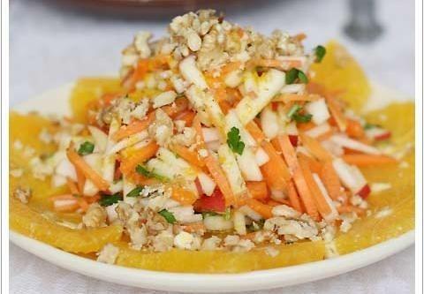 Салат свекла с черносливом и курагой рецепт