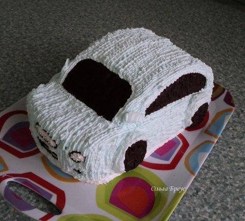 Как сделать торт в домашних условиях машину