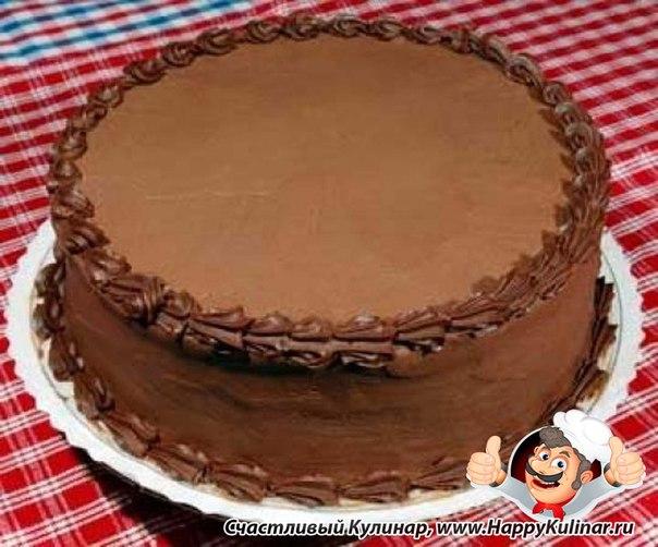 Шоколадно-ромовый торт