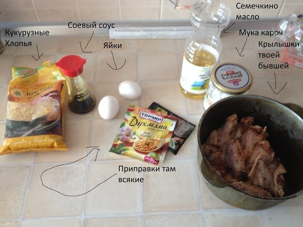Рецепт крылышек kfc пошагово