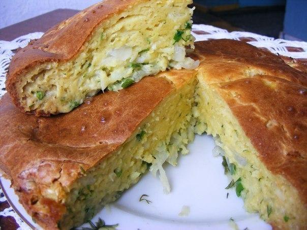 пирог в мультиварке с яйцом и капустой